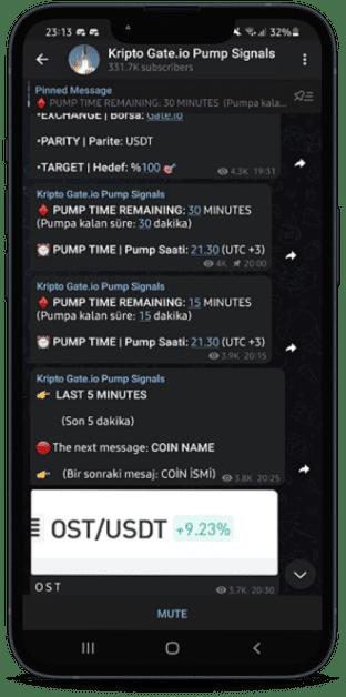 Crypto pump and dump signal gateio